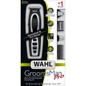 Wahl - Groomsman Pro Sport Special Trimmer - Black/Silver