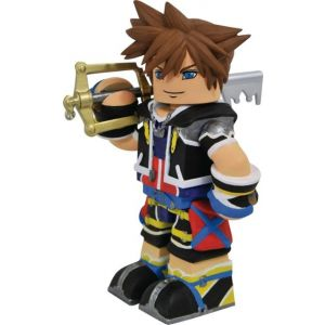 Diamond Select Toys - Kingdom Hearts Vinimates Sora - Red, Black