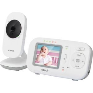 "VTech - Video Baby Monitor with Camera and 5"" Screen - White"