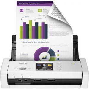 Brother - ADS-1700W Wireless Desktop Scanner