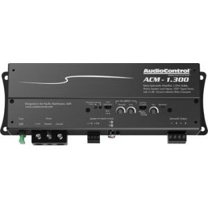 AudioControl - Class D Digital Mono Amplifier with Low-Pass
