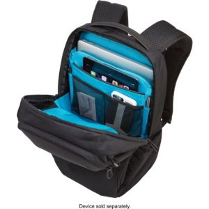 "Thule - Accent Backpack Bundle for 15.6"" Laptop - Black"