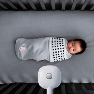 Nanit - Plus Smart Baby Monitor & Wall Mount - White