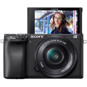 Sony - Alpha a6400 Mirrorless Camera with E PZ 16-50mm