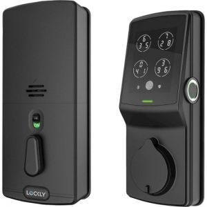 Lockly - Secure Plus Bluetooth Deadbolt - Matte Black