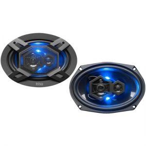 "BOSS Audio Elite 6""x9""3-Way Car Speakers with Polypropylene Cone"