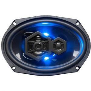 """BOSS Audio - Elite 6"""" x 9"""" 3-Way Car Speakers- Black"""