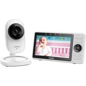 "VTech - Video Baby Monitor with Wi-Fi camera and 5"" Screen"