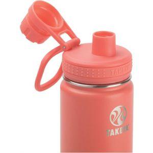 Takeya - Actives 24oz Spout Bottle - Coral