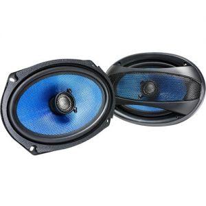 "Hifonics - Alpha 4 ""x 6"" 2-Way Car Speakers- Blue/Black"