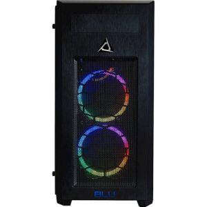 CybertronPC - BLU-Print Desktop - AMD Ryzen ThreadRipper 2990WX - 128GB Memory - 6TB Hard Drive + 960GB Solid State Drive - Black/RGB