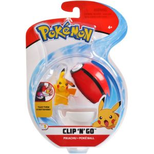 Pokémon - Clip 'N' Go Poké Ball - Styles May Vary