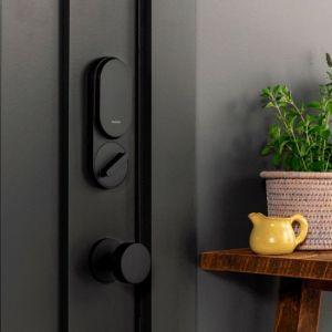 SimpliSafe - Smart Lock + PIN Pad - Nickel