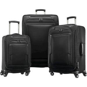 "Samsonite - Pro 33"" Expandable Spinner Suitcase - Black"