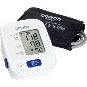 Omron - 3 Series Automatic Blood Pressure Monitor - Black/White