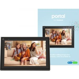 "Facebook - Portal Smart Video Calling 10"" Display with Alexa - Black"