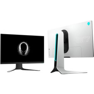 """Alienware - AW2720HF 27"""" IPS LED FHD FreeSync and G-SYNC Compatible Monitor (DisplayPort, HDMI, USB) - Black"""