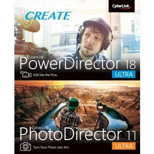 Cyberlink - PowerDirector 18 Ultra + PhotoDirector 11 Ultra