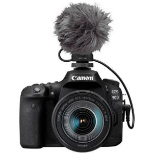 Canon - EOS 90D DSLR Camera with EF-S 18-55mm Lens Video