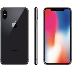 Apple - Preowned iPhone X with 64GB Memory Cell Phone (Unlocked)
