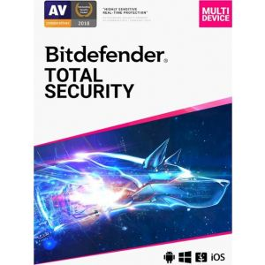 BitDefender - Total Security (5-Device) (1-Year Subscription