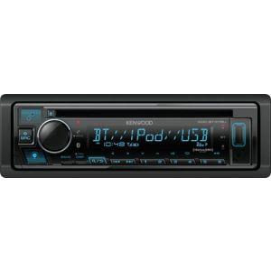 Kenwood - In-Dash CD/DM Receiver Built-in Bluetooth Satellite
