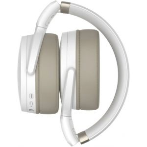 Sennheiser - HD 450BT Wireless Noise Cancelling Over-the-Ear Headphones - White