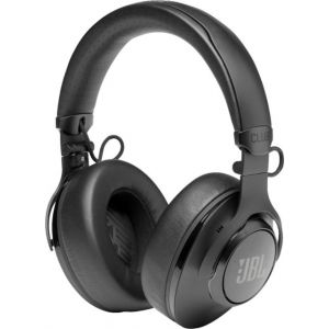 JBL - Club 950NC Wireless Noise Cancelling Over-the-Ear Headphones - Black