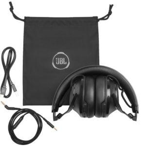 JBL - Club 700BT Wireless Over-the-Ear Headphones - Black