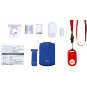 SMPL - Complete Safety Alert Kit - Blue/White/Red-1