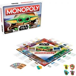 Hasbro -1 Monopoly: Star Wars The Child Edition Board Game