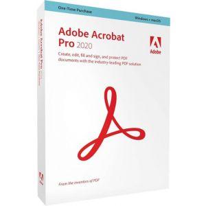 Adobe - Acrobat Pro 2020 - Mac, Windows