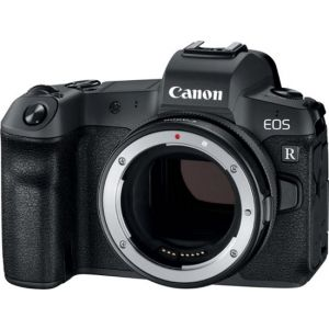 Canon - EOS R Mirrorless 4K Video Camera with RF 24-105mm f/4
