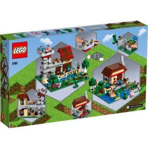 LEGO Minecraft The Crafting Box 3.0 21161 Minecraft Brick Construction Toy