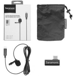 Saramonic - LavMicro U3A Clip-On Lavalier Mic w/ USB-C