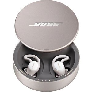 Bose - Sleepbuds II — Soothing Sounds and Noise-masking Technology Designed for Better Sleep - White/Silver
