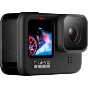 GoPro - HERO9 Black 5K and 20 MP Streaming Action Camera - Black