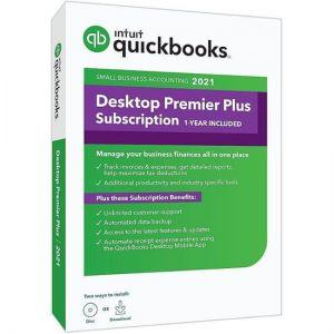Intuit - QuickBooks Desktop Premier Plus 2021