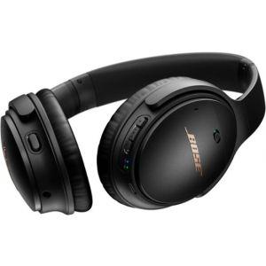 Bose - QuietComfort 35 II Gaming Headset – Comfortable Noise Cancelling Headphones - Black