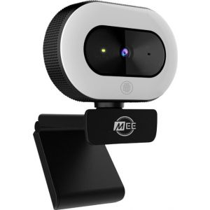 MEE audio - 1080p Live Webcam with LED Ring Light