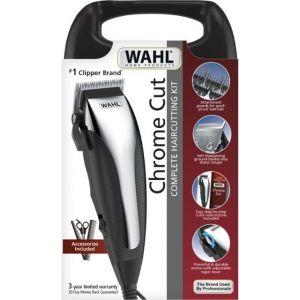 Wahl Chrome Cut 22 Piece Haircutting Kit - 09670-700 - Silver