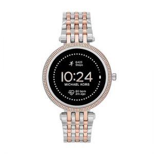 Michael Kors - Darci Gen 5E Smartwatch 43mm - Two-Tone Stainless Steel