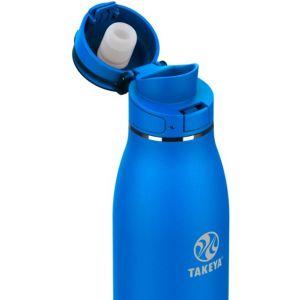 Takeya - Traveler 17oz FlipLock Bottle - Cobalt