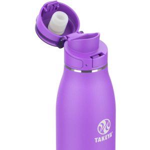 Takeya - Traveler 17oz FlipLock Bottle - NitroPurple