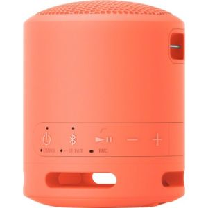 Sony - EXTRA BASS Compact Portable Bluetooth Speaker - Coral Pink