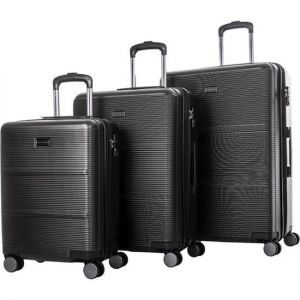 Bugatti - Spinner Suitcase Set (3-Piece) - Rooted