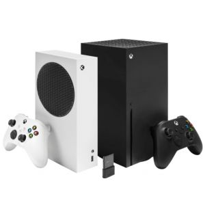Package - Microsoft - Xbox Series S 512 GB All-Digital Console (Disc-free Gaming)