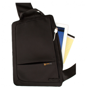 PRO TEC ZIP Sling for iPad/Tablet/Thin Notebook (Black)