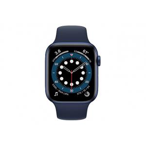 Apple Watch Series 6 (GPS + Cellular) - blue aluminum - smart watch with sp