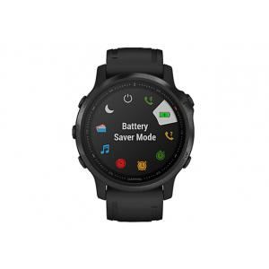 Garmin fenix 6S Pro - black - sport watch with band - black - 32 GB